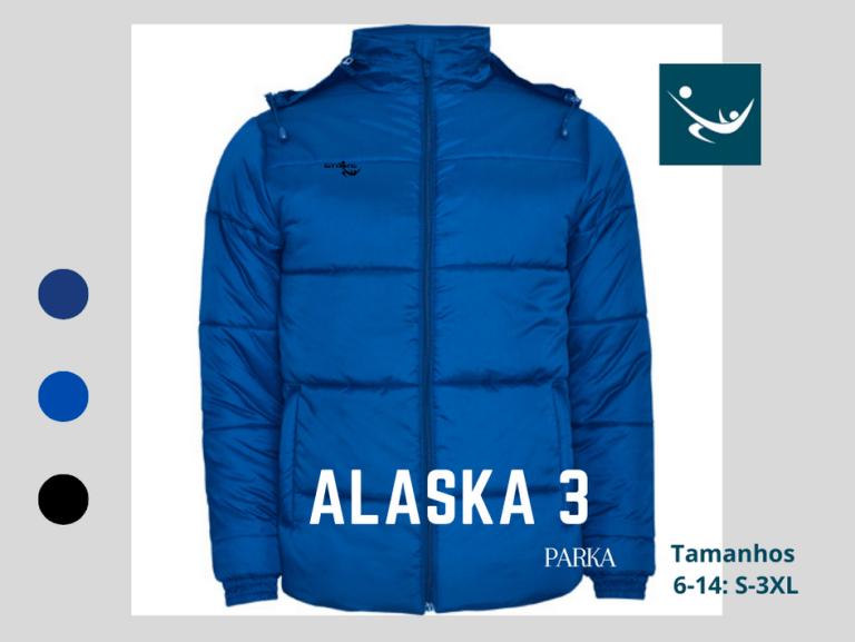 Parka Alaska 3 , casaco impermeável