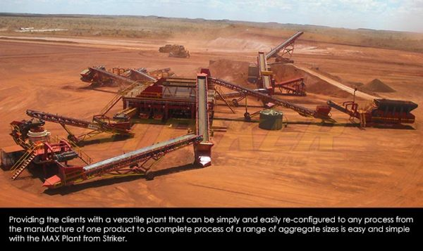 MAX Plant by Striker Australia Iron Ore