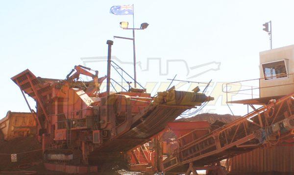 Striker mobile Jaw crusher Australian Mining