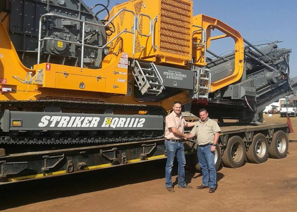 Striker South Africa dealers - HQR1112 Impact crusher