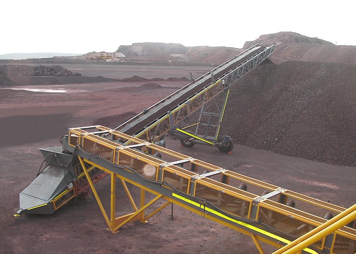 Striker 24M Wheel Conveyor – Iron Ore Australia