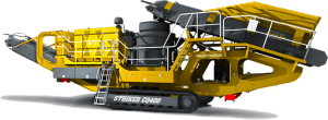 Striker Mobile Cone Crusher CQ400 3D
