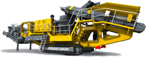 Striker Mobile Cone Crusher CQR400 3D