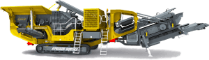 Striker Mobile Impact Crusher HQR1112 3D