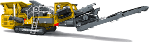 Striker Mobile Impact Crusher HQR907 3D
