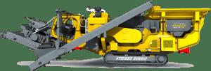 Striker Mobile Impact Crusher HQR910 3D