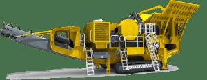 Striker Mobile Jaw Crusher JM1310 3D