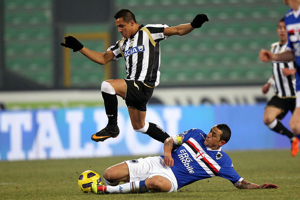 Former Udinese golden boy Alexis Sanchez