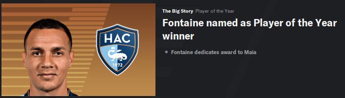 Fontaine POTY