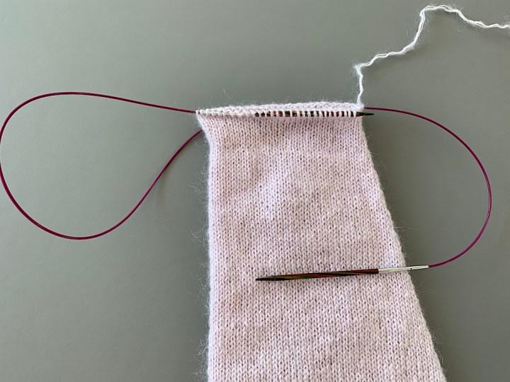 Magic Loop - gør forreste pind klar til strik
