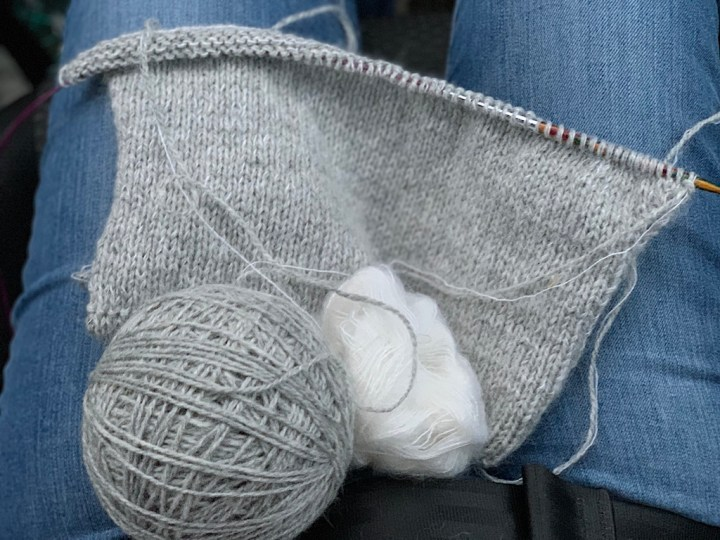 Veras vest - strikketøj