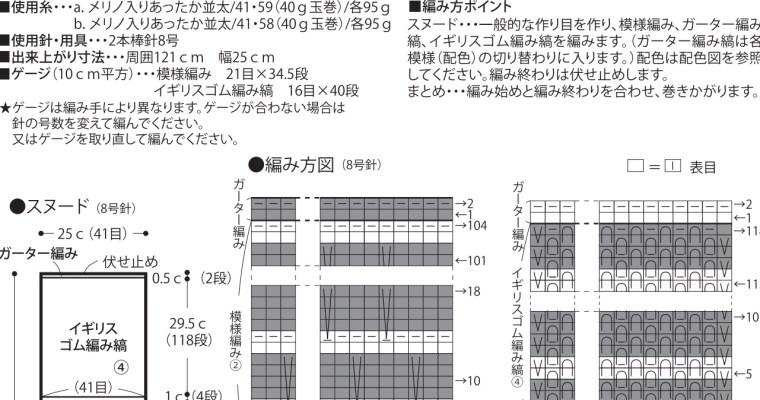 Japanske strikkeopskrifter