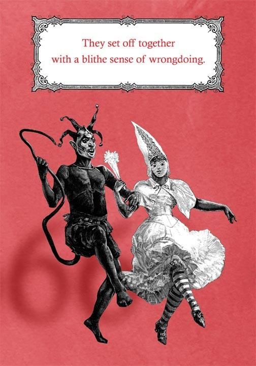 Gruss Vom Krampus Valentines Special String And Monsters
