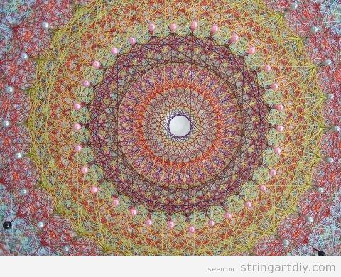 Mandala String Art | String Art DIY | Free patterns and