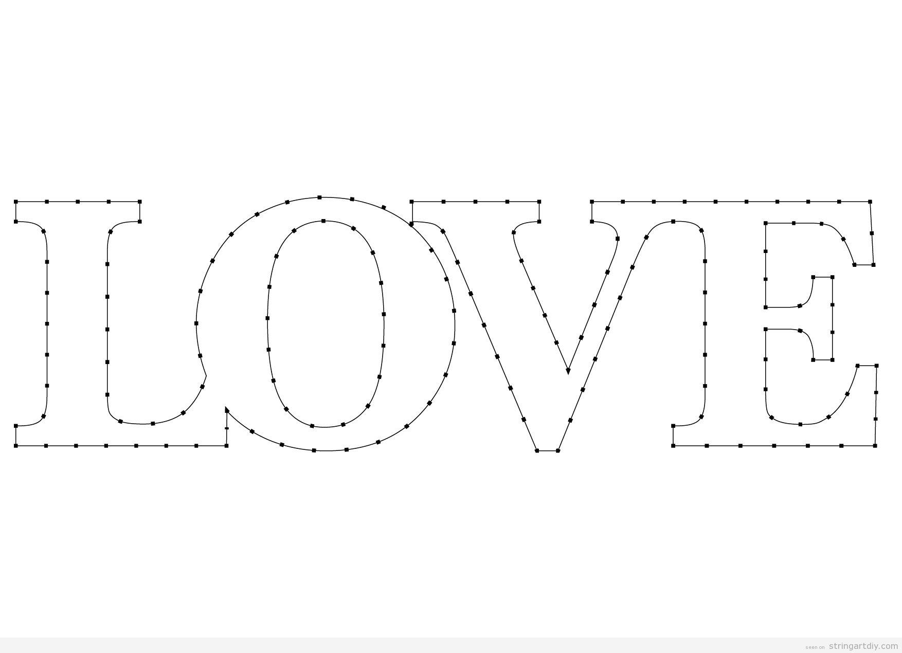 Love Archives String Art DIYString Art DIY