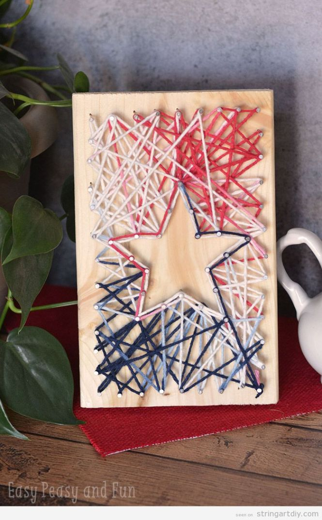 Make Your Own Monogrammed String Art