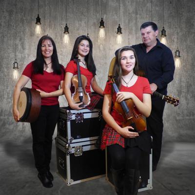 String Loaded Celtic Fiddle Band