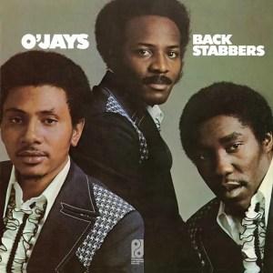 O'Jays, Back Stabbers album cover