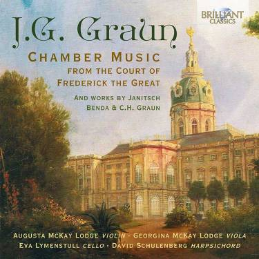 J.G. Graun Chamber Music from the Court of Frederick the Great album cover
