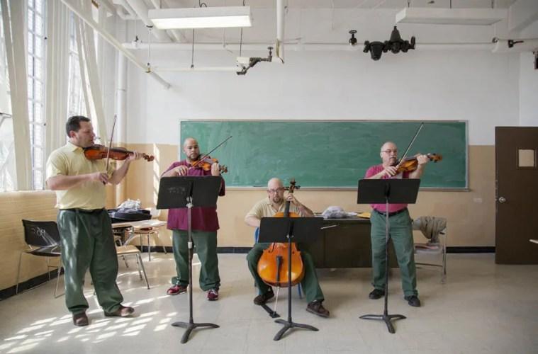 Sing Sing Inmates music rehab