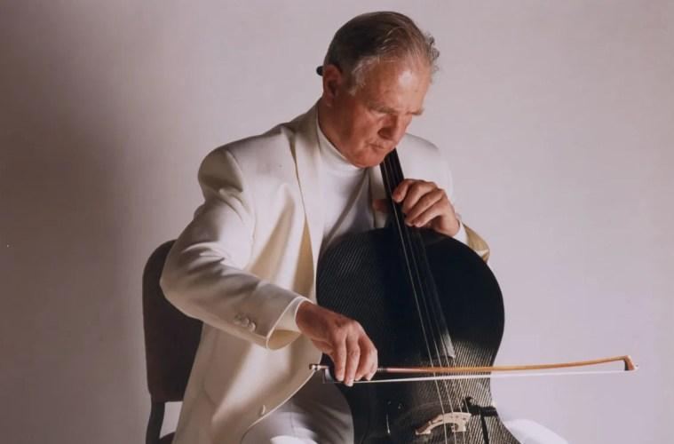 Luis Leguia with cello