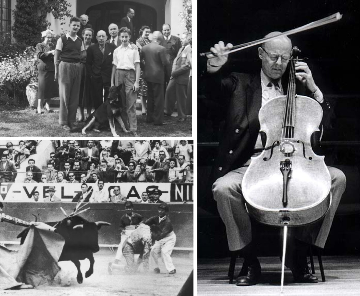 Carlos Prieto Stravinsky Bullfight Strings Magazine 30th Anniversary