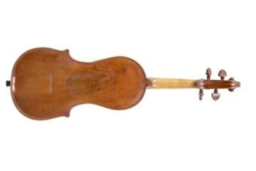 """Winston Churchill's """"Cigar Box"""" violin"""