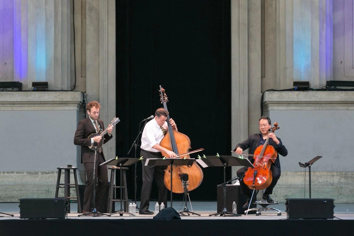 Chris Thile, Edgar Meyer, and Yo-Yo Ma