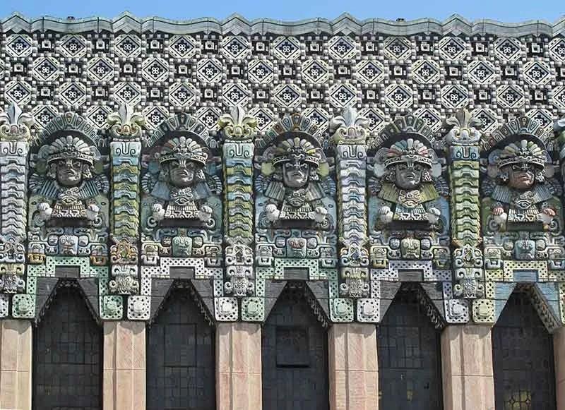 Los Angeles venue the Mayan Theater facade