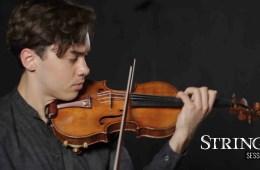Violinist Ben Beilman