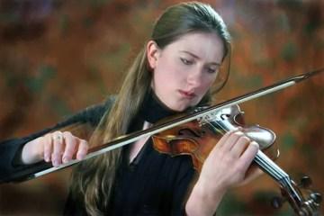 Violinist Christina Day Martinson