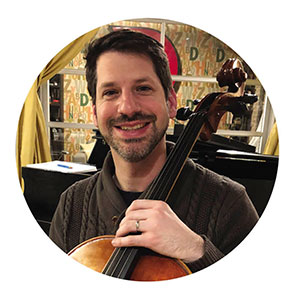 Cellist Michael Freilich