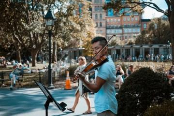Spring violin