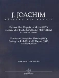joachim,+joseph+-+two+fantasies+for+violin+and+piano+-+barenreiter+urtext+edition_