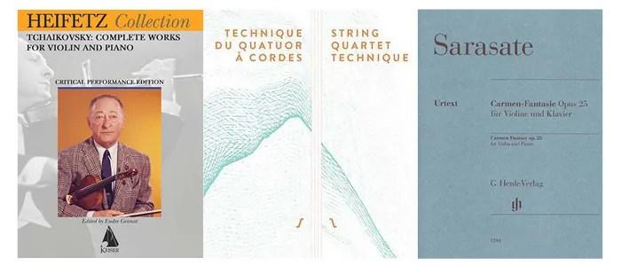 string quartet technique books