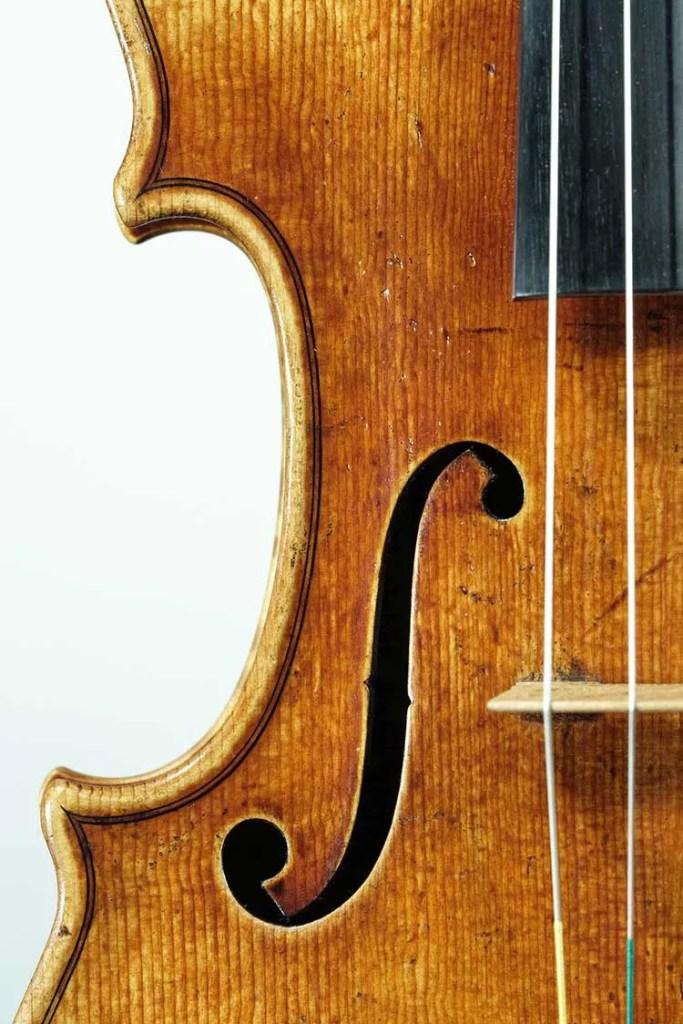 1715 Strad copy f-hole-David Gusset