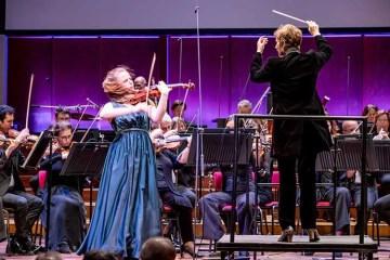 Violinist Coraline Groen
