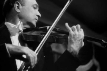 Violinist Joseph Szigeti