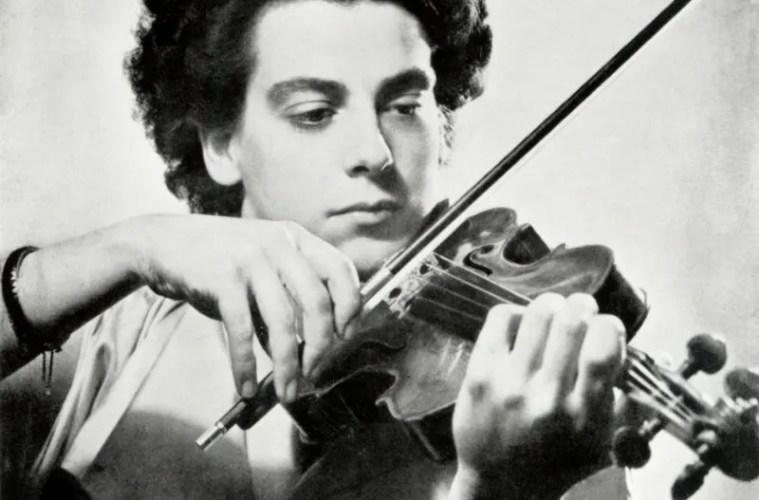 violinist Ginette Neveu