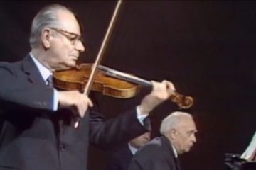 violinist Zino Francescatti