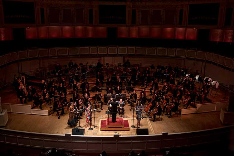 """Chicago Sinfonietta performs a tribute to Martin Luther King, Jr., """"Ask Your Mama,"""" in 2018"""