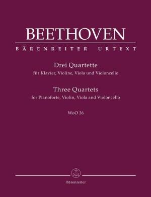 Beethoven-piano quartets