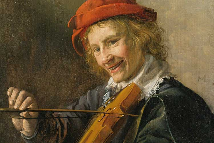Portrait of a Young Violinist (1632) by Jan Miense Molenaer