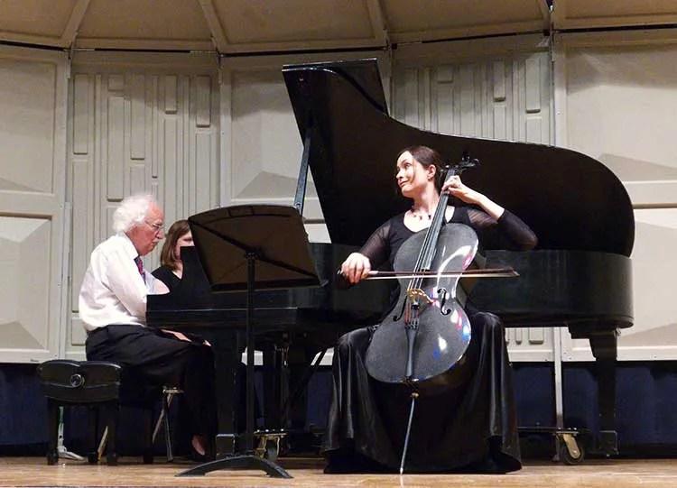 Cellist Miranda Wilson in recital 2018
