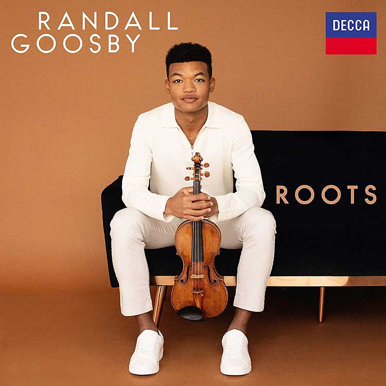 Randall Goosby's 'Roots' album cover