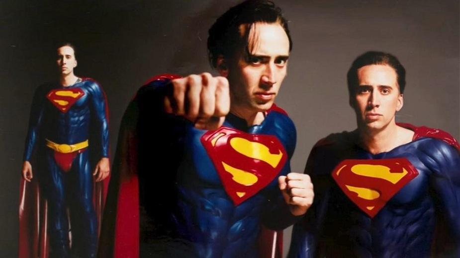 Glumac Nikolas Kejdž i njegovo prokletstvo Supermena strip blog
