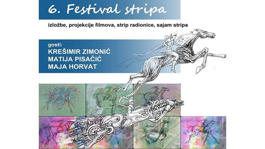 6. Festival stripa u organizaciji udruge STRIPoblaČAK strip blog