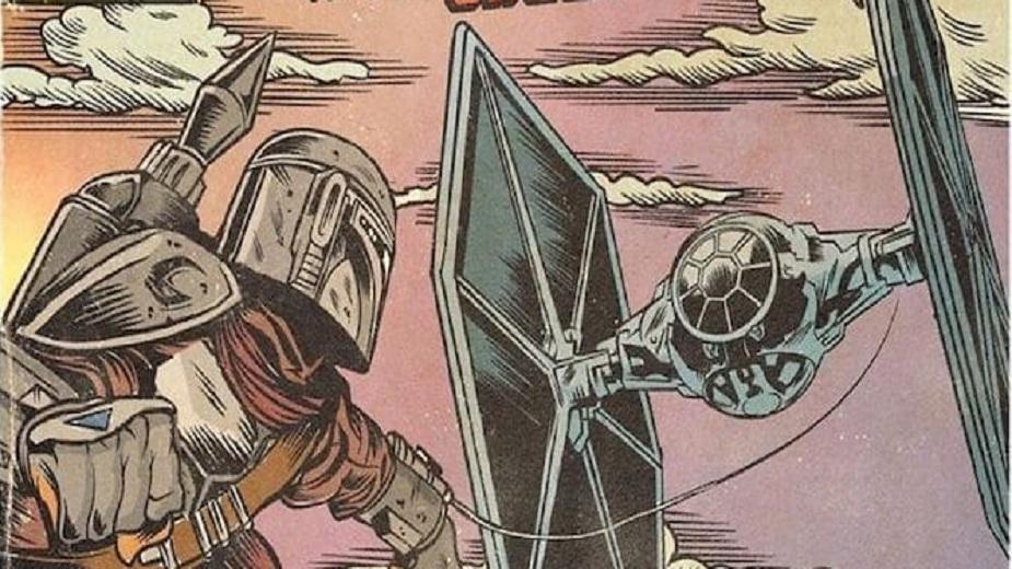 Mandalorian u obliku starih stripova iz 70-ih (GALERIJA) strip blog