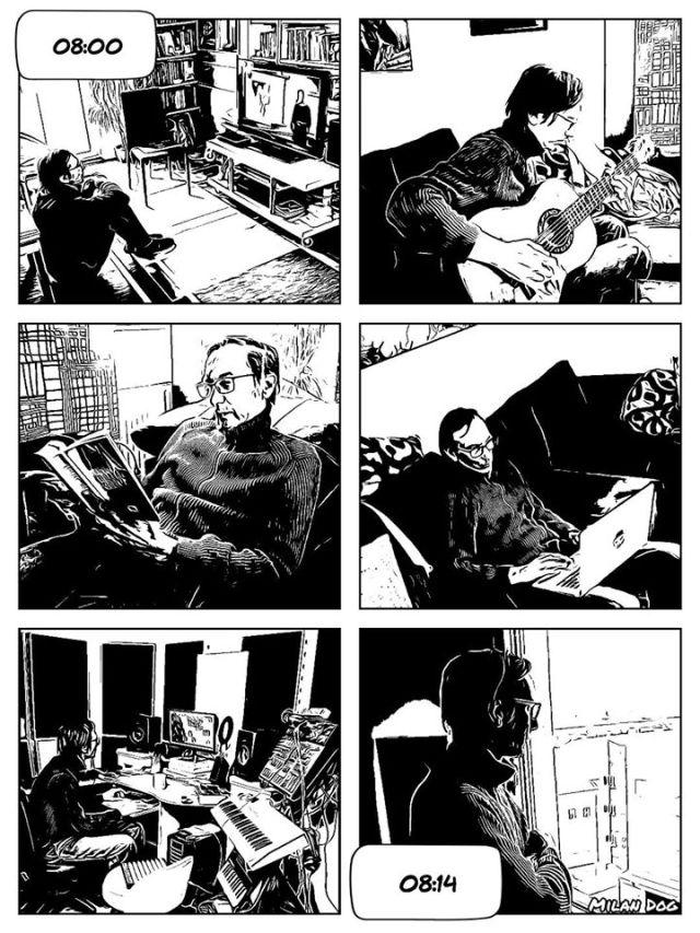 dan u izolaciji stripblog