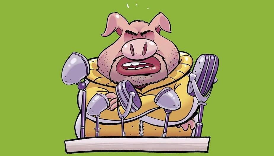 """Orvelova """"Životinjska Farma"""" dobija svoju strip verziju strip blog"""